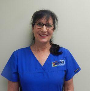 Team member Susan Woodman