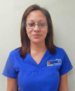 Team member Ashley Viney